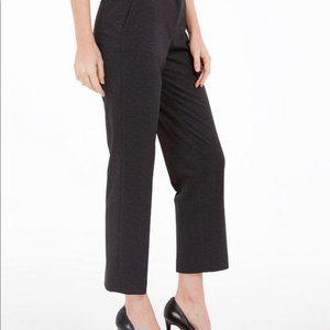 New Kasper Elastic-Back Dress Pants 14W / Charcoal